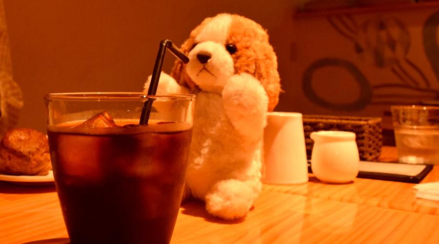 キッサコのアイスコーヒー