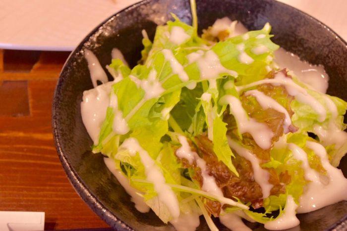 【ステーキハウス小で毬】野菜サラダ