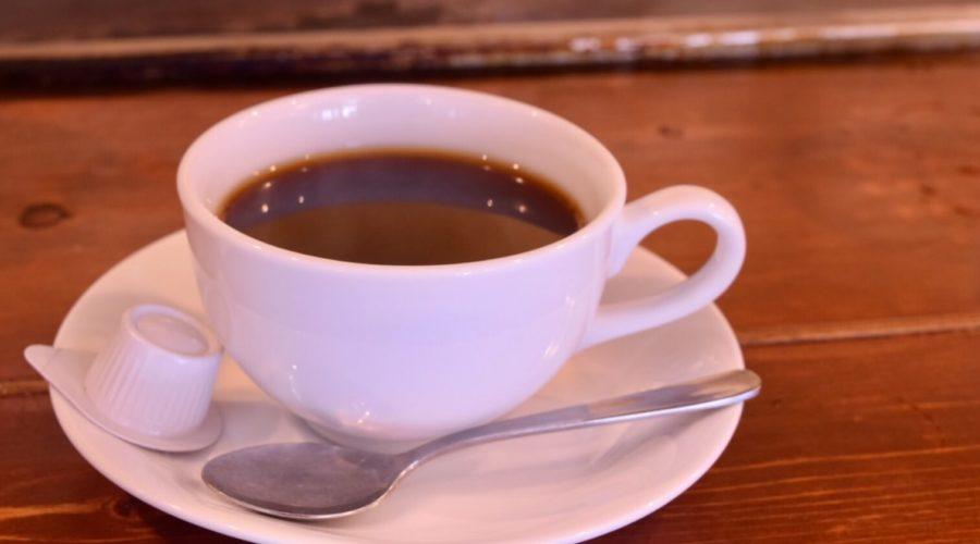 小で毬の食後のコーヒー