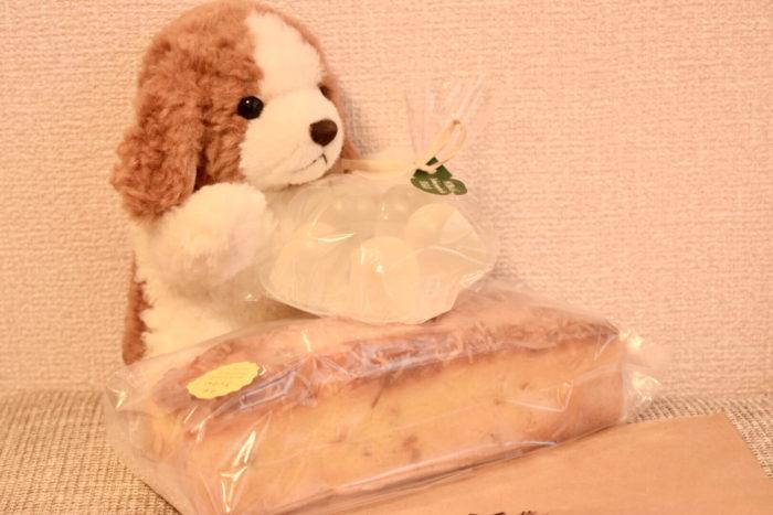 とさのさとアグリコレット高知で購入したパウンドケーキとゼリー