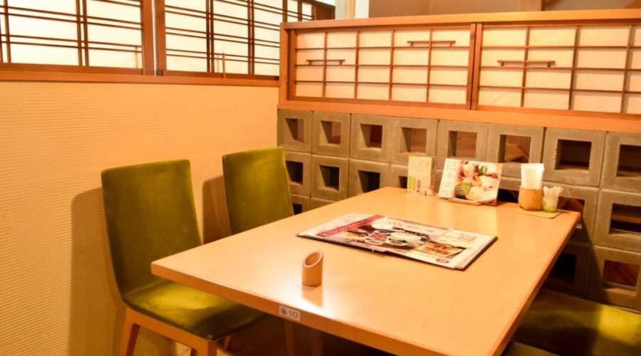土佐茶カフェ 店内の様子