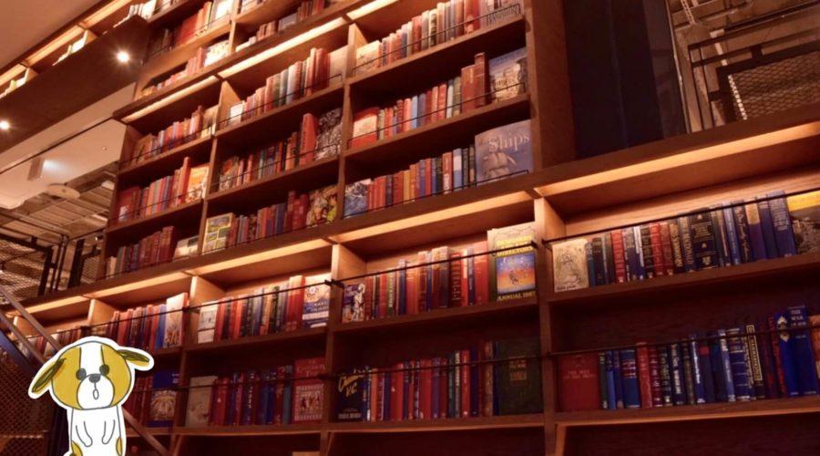 高知 蔦屋書店 洋書棚