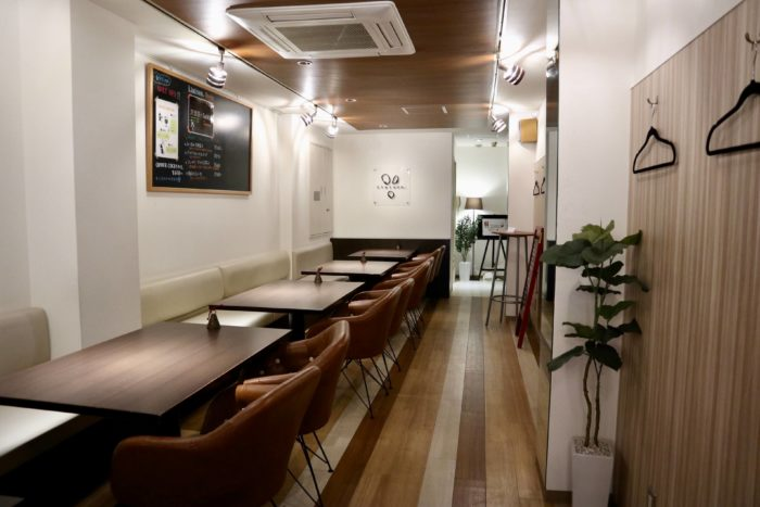 沢渡茶カフェASUNARO(あすなろ帯屋町店) 店内の様子