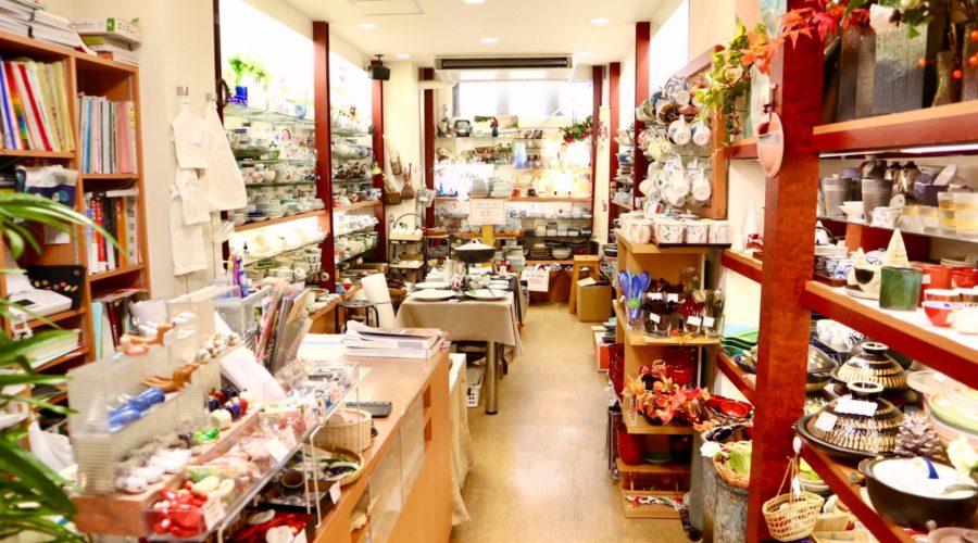 植野陶器店 店内の様子