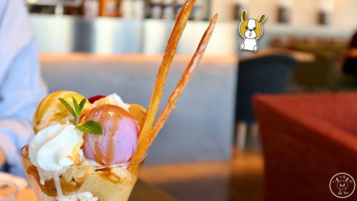 芋屋金次郎の「お芋づくしのパフェ」