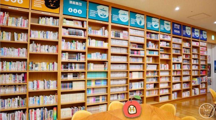 まんがライブラリー1の本棚