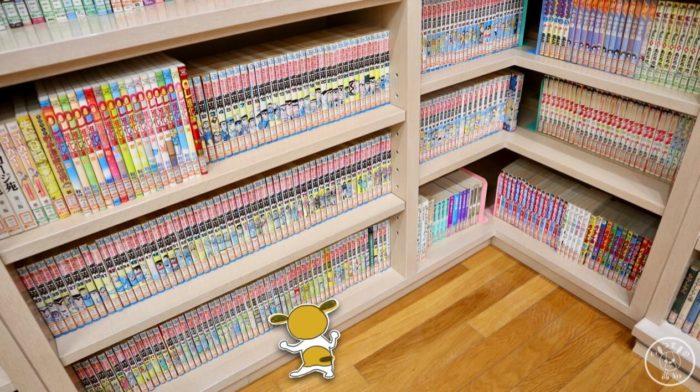 まんがライブラリーの蔵書(こち亀)