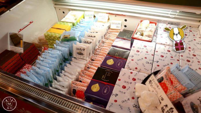 マンテンノホシの「ほうじ茶大福」やチョコレート