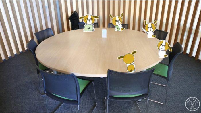塩見プラザのグループ学習室