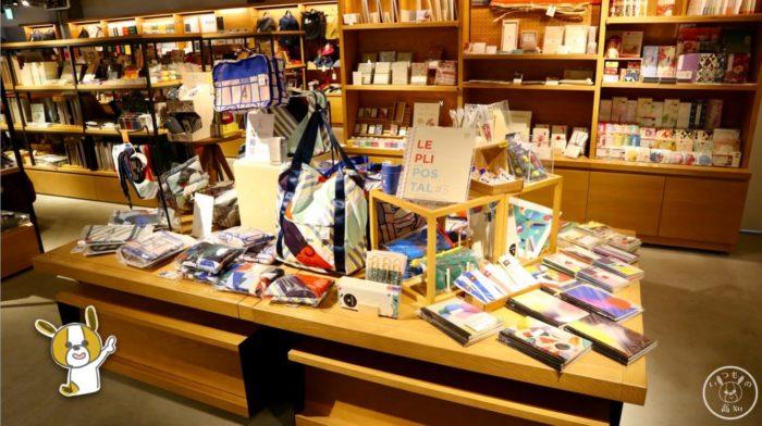 高知蔦屋書店2Fの雑貨コーナー