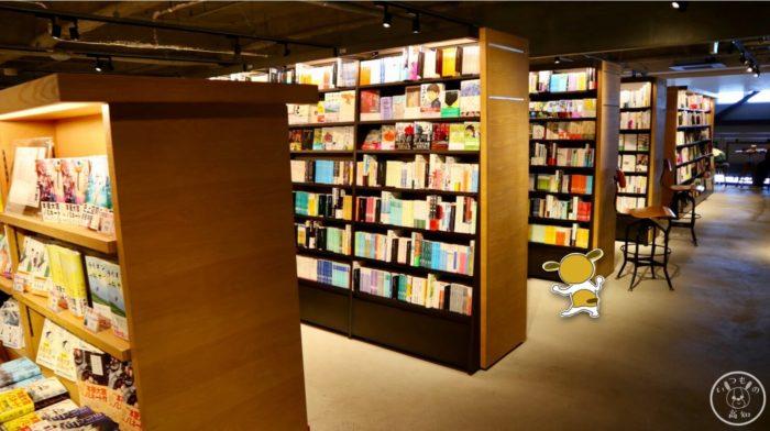 高知蔦屋書店2Fの本棚