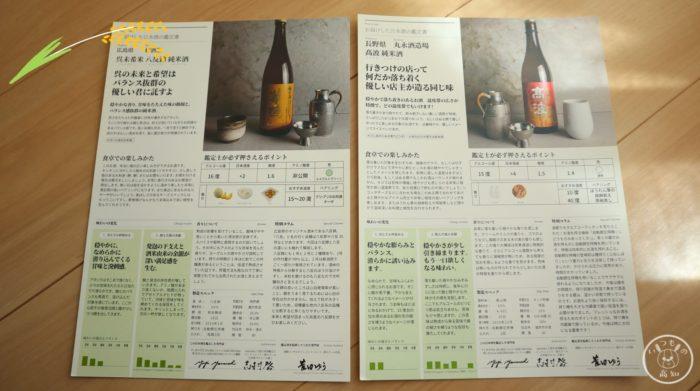 saketakuの「日本酒の鑑定書」