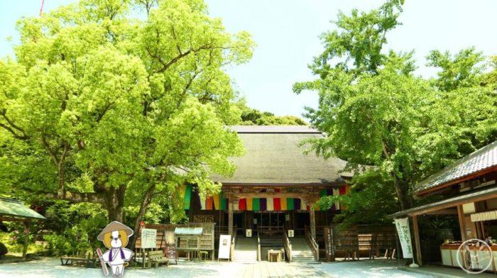 五台山竹林寺の本堂