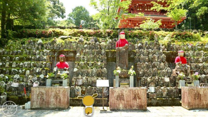 五台山竹林寺のたくさんのお地蔵さん