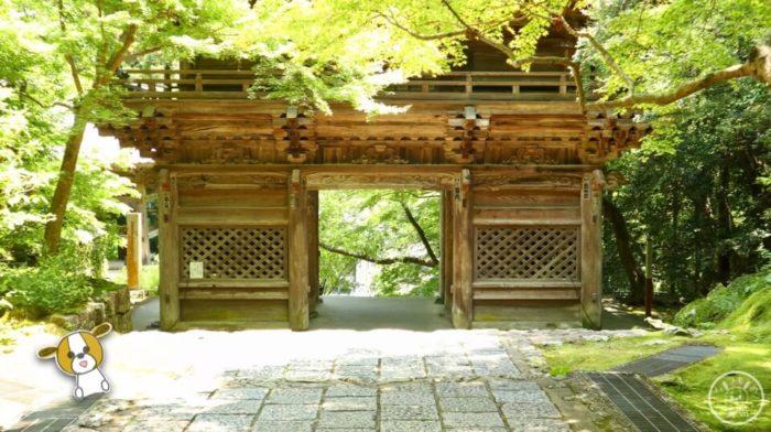 五台山竹林寺の仁王門