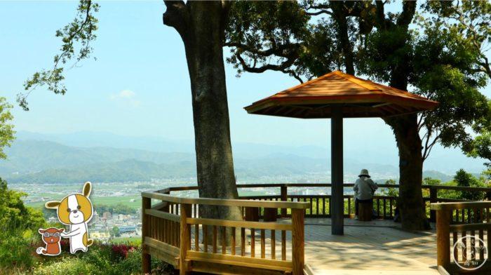 こんこん山広場から見た景色