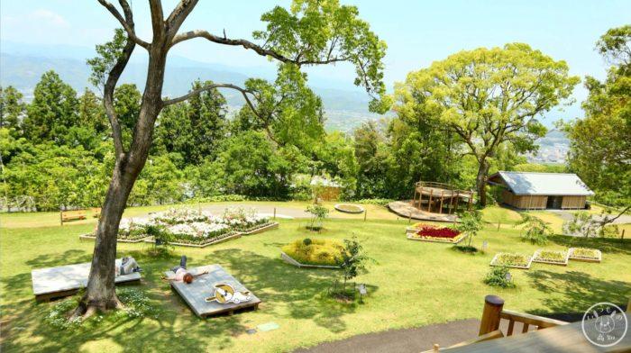 こんこん山広場の展望台からの景色