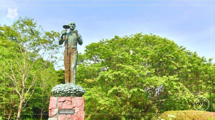 牧野富太郎先生の像