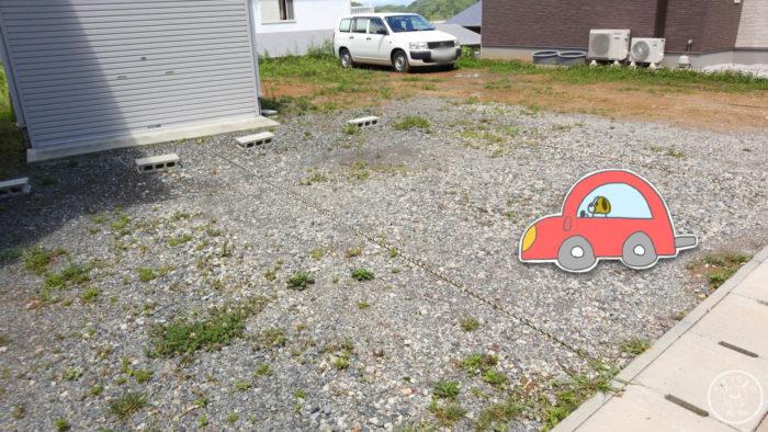 にゃんこメリーの駐車場