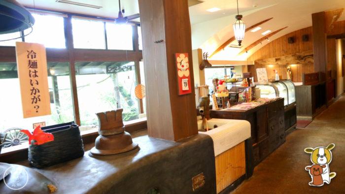 レストラン高知の店内の様子