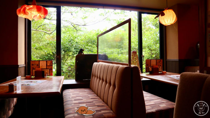 レストラン高知の座席