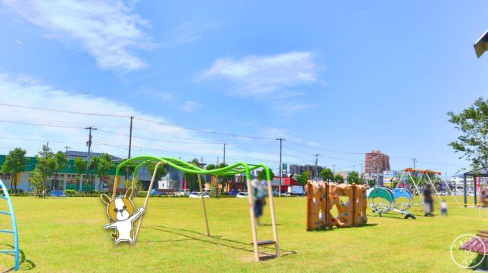 弥右衛門公園の遊具