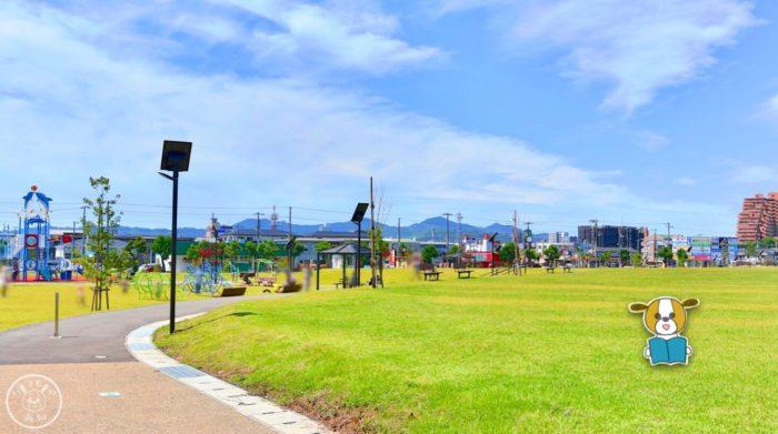 弥右衛門公園のイベント広場