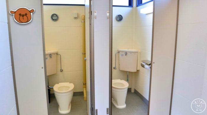 弥右衛門公園のトイレの様子