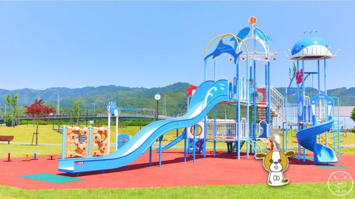 弥右衛門公園の大きな遊具